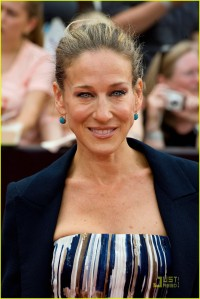 Sarah Jessica Parker attends the premiere of 'Harry Potter and the Deathly Hallows: Part 2' at Avery Fisher Hall, Lincoln Center on July 11, 2011 in New York City.